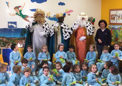 Visita de S.S.M.M. los Reyes Magos de Oriente
