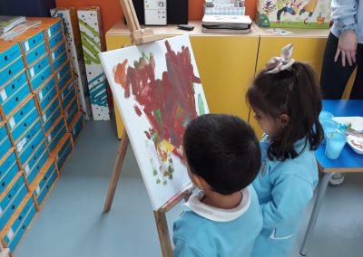 ¡¡Nuestros primeros pasos en el Arte!!